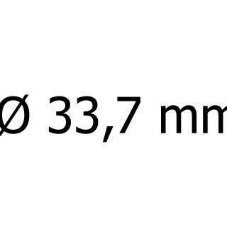 průměr 33,7 mm