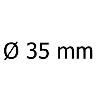 průměr 35 mm