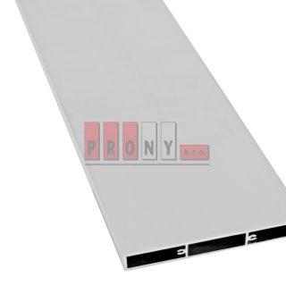Hliníkové plotovky ploché s kotvícími kanálky – 150×19 mm
