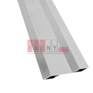 """Hliníkové plotovky """"Z"""" s kotvícími kanálky 115,2x24x4 mm"""