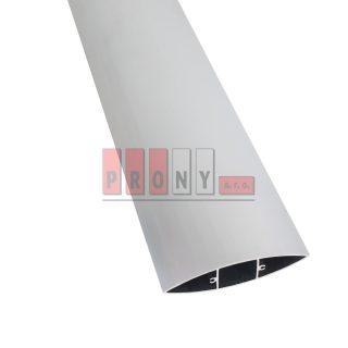 Hliníkové plotovky křídlové s kotvícími kanálky – 100×24,5 mm